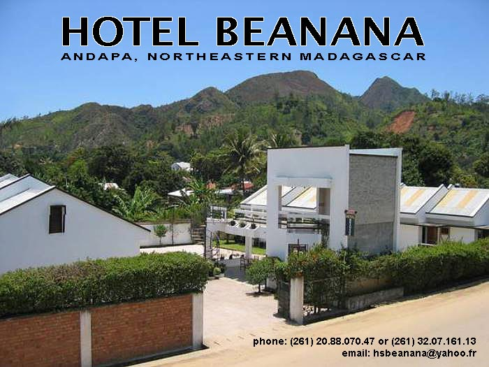 Welcome to the Hotel Beanana, Andapa, Northeastern Madagascar